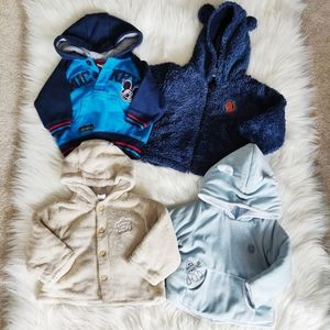 Baby boys Sweaters 3-6 months and 9 month Sherpa sweater